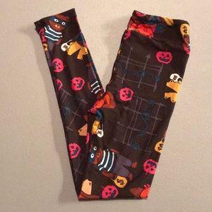 LulaRoe Halloween 🎃 Kids L/XL leggings